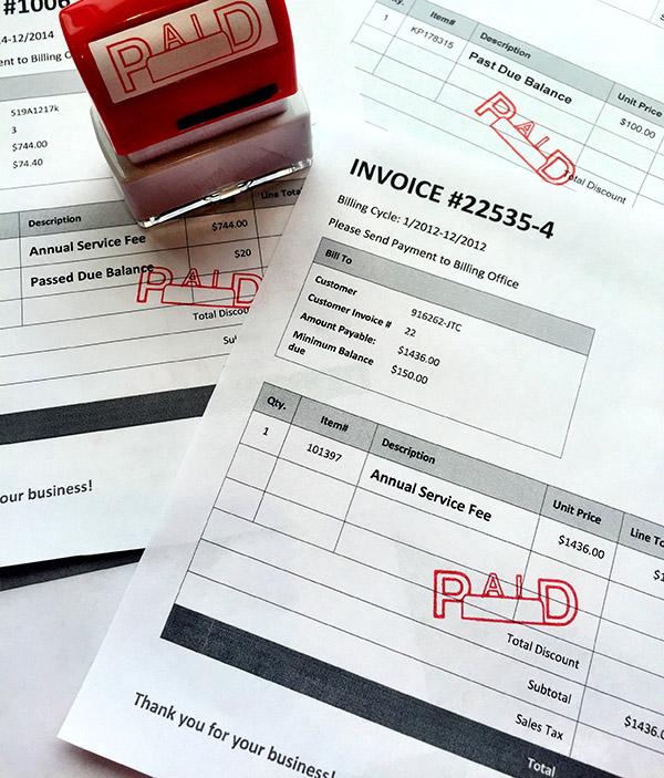 Billing machine: we get things paid
